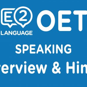 OET Speaking Overview & Hints!